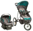 Eddie Bauer TrailGuide Jogger Travel System with SureFit Infant Car Seat Emerald