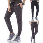 Mens Casual Pants Skull Sport Camouflage Slacks Harem Hip Hop Relax Trousers