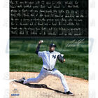 Steiner Dellin Betances Signed Yankees Pitching 16x20 Story Photo