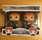 Funko Pop! Harry Potter Fred & George Weasley 2 Pack. BAM Exclusive.