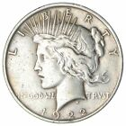 Over 90 Years Old 1922 Peace Silver Dollar 90 Silver 331