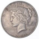 Early 1922 Peace Silver Dollar 90 US Coin 723
