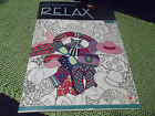 1 Kick Back  Color RELAX Adult Coloring Book NEW 31 Tear Out Pages RETRO