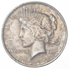 Early 1924 Peace Silver Dollar 90 US Coin 734