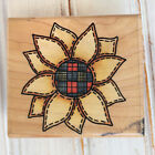 Country Sunflower Rubber Stamp Rubber Stampede Flower Southern Floral