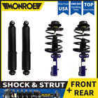 MONROE 4 FRONT&REAR Shocks and Struts For 1997-1999 CHRYSLER TOWN & COUNTRY