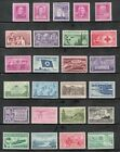 US Postage Stamp Collection Of 25 Vintage Stamps 60 to 70 Years Old Mint V 3