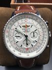 AB044121/G783 | BREITLING NAVITIMER GMT | BOX PAPERS AND CARD $8,000 RETAIL