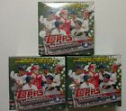 (3) 2017 TOPPS HOLIDAY BOXES BLASTER BOXES NEW WALMART EXCLUSIVE 1 HIT PER BOX!!