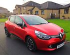 2014 RENAULT CLIO DYNAMIQUE MEDIA NAV NRG S S 09 TCE PETROL 5 DOOR CANDY RED