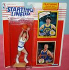 1990 CHRIS MULLIN Golden State Warriors -FREE s/h- Starting Lineup + 1985 card !