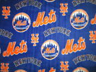 licensed Baseball Fleece fabric New York Mets by the yard NBL