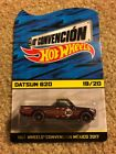 2017 Hot Wheels 10a Mexico Convention Limited Edition Datsun 620