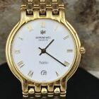 RAYMOND WEIL FIDELIO GENEVE 18K G.P. MENS WATCH WITH DATE (E191)