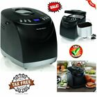 Programmable Bread Maker Machine 2 Pound Home Kitchen Non-Stick Pan Breadmaker