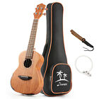 Top Solid Electro acoustic Ukulele Electric Tenor Ukulele EQ 26 Mahogany Body