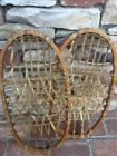 Antique Child Children's Snowshoes Country Cabin Holiday Decor Dated 1942 11x21