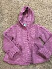 Pumpkin Patch Purple Hoodie Cardigan And Matching Jeans Set Girls Size 3