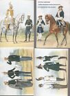 Uniform of the Life Guards of His Majesty's Cuirassier Regiment(set of 15 cards)