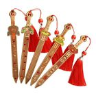 Chinese Peach Wood Sword Amulet Lucy Decoration Blessing Gift Exorcise Evil