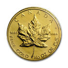 1983 Canada 1/10 oz Gold Maple Leaf BU - SKU #84170