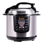 Programmable Electric Pressure Instant Pot Cooker 6 Qt 7 in1 Faster Cook 1000 W