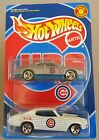 HOT WHEELS 2000 CHICAGO CUBS BASEBALL GIVEAWAY CHEVELLE  Monte Carlo 2 PAC