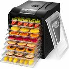 Food Dryer Best Dehydrator Fruit Trays Digital Automatic Home Healthiest Snacks