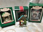 Hallmark  Set of 3 WINDOWS OF THE WORLD Ornaments 1987 1988 1989