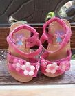Sesame Street Toddler Girls Abby Cadabby Sandals Size 5W EUC Lightly Worn Pink