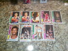 9CT 1976 77 TOPPS 9CT W BILL WALTON DAVID THOMPSON RC PHIL JACKSON BOB JONES