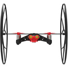 Drone Parrot Rolling Spider Red Smartphone Rapid Acrobatic Tricks Hobbies New