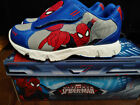 SPIDER MAN shoes boys Size 12 brand new with box