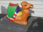Rare Large Vintage Christmas Nativity Camel Light Up Outside Yard Blow Mold