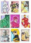 2012 Marvel Greatest Heroes lot of 9 sketch cards 1 1 !