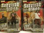 Lot of two WWF/WWE Titan Tron Live Survivor Series  - The Rock & Mankind (new)
