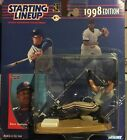 Dave Justice Cleveland Indians Baseball Starting Lineup 1998 World Series Braves