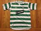 White Green Umbro Celtic Football Club Soccer Jersey Youth Boys Large L