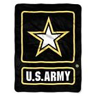 New US Army Star Armed Forces Flag Soft Fleece Throw Gift Blanket Military USA