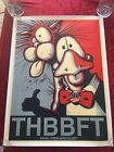 BILL THE CAT & OPUS SIGNED by BERKELEY BREATHED  BLOOM COUNTY 2016 18x24 POSTER