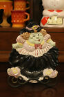 HTF Fitz and Floyd Halloween Green Witch Canape Serving Plate FITZ