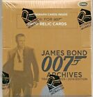 2014 JAMES BOND ARCHIVES BOX UNOPENED FACTORY SEALED 24 PACKS 2 AUTO'S PER BOX