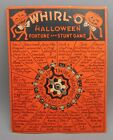 Vtg Original Beistle Sandra Pearl Whirl O Halloween Fortune and Stunt Party Game