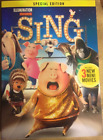 Sing DVD 2017 Free Shipping With Slipcover Animation