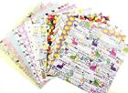 12X12 Scrapbook Paper lot 14 Sheets Spring Easter Prints Card Making L234