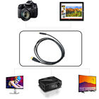 PwrON Mini HDMI A/V TV Video Cable for Sony Alpha DSLR-A900 DSLR-A230/Y NEX-5R