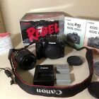 Canon EOS Rebel XS EOS 1000D 101MP Digital SLR Camera Kit TESTED Great GIft