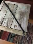 Antique Wrought Iron Fireplace Hearth Flesh Fork