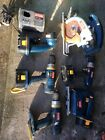 Ryobi drills, saw, light, charger Batteries Bundle job lot