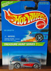 Hot Wheels 1996 Treasure Hunt 58 Corvette w Real Riders New in Protector Pack